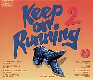 Keep On Running 2 - Cover