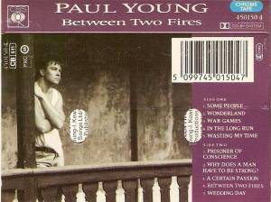 Paul Young: Between Two Fires (Tape) - Bild 2