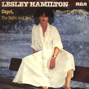 Cover - Lesley Hamilton: Capri, The Night And You