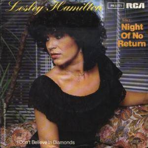 Cover - Lesley Hamilton: Night Of No Return