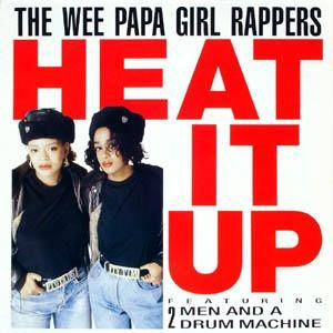 Cover - Wee Papa Girl Rappers: Heat It Up