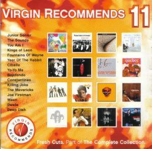 Virgin Recommends 11: Fresh Cuts. Part of The Complete Collection. - Cover