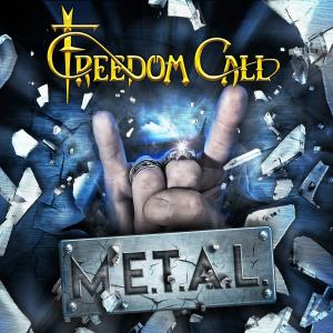 Freedom Call: M.E.T.A.L. - Cover