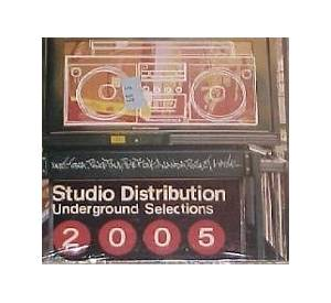 Studio Distribution Underground Selections 2005 - Cover