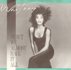 Cover - Whitney Houston: Didn't We Almost Have It All