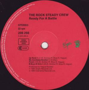 Rock Steady Crew: Ready For Battle (LP) - Bild 5