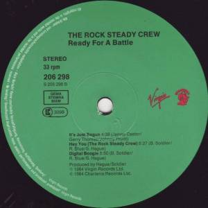 Rock Steady Crew: Ready For Battle (LP) - Bild 6