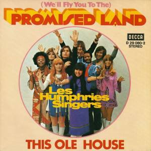 The Les Humphries Singers: (We'll Fly You To The) Promised Land - Cover
