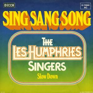 The Les Humphries Singers: Sing Sang Song - Cover