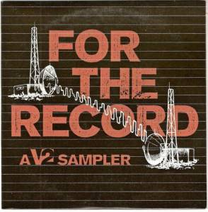 For The Record: A V2 Sampler - Cover