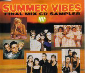 Summer Vibes: Final Mix CD Sampler - Cover