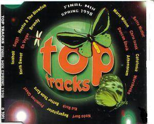 Top Tracks [Final Mix Spring 1998] wea / ew - Cover