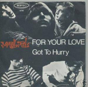 The Yardbirds: For Your Love - Cover