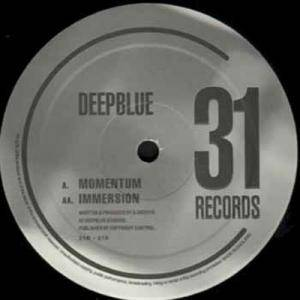 Cover - Deep Blue: Momentum