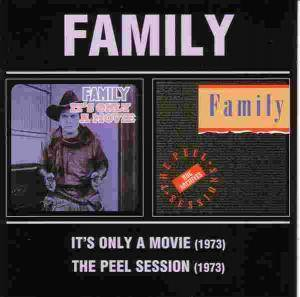Cover - Family: It's Only A Movie / The Peel Session