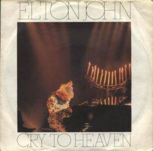 Elton John: Cry To Heaven - Cover