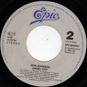 "Don Johnson: Tell It Like It Is (7"") - Bild 4"