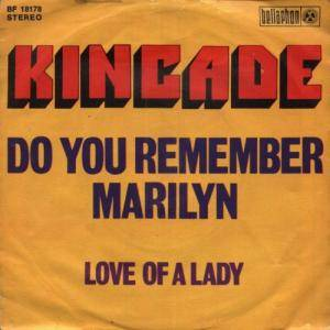 Cover - Kincade: Do You Remember Marilyn