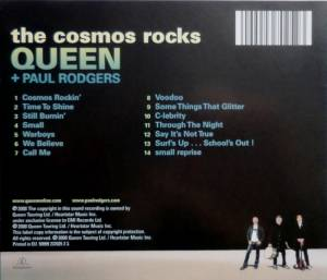 Queen & Paul Rodgers: The Cosmos Rocks (CD) - Bild 2