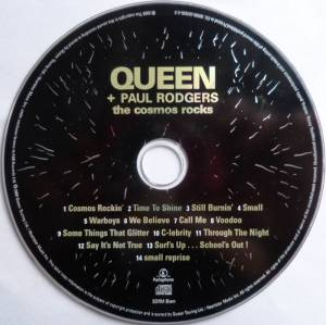 Queen & Paul Rodgers: The Cosmos Rocks (CD) - Bild 3