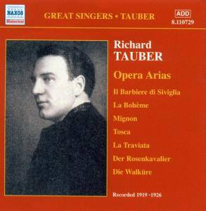 Cover - Richard Tauber: Acoustic Recordings 1919-1926