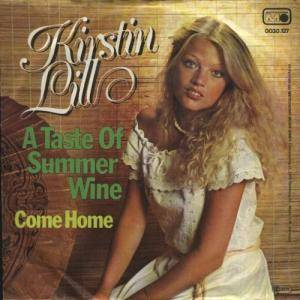 Cover - Kirstin Lill: Taste Of Summer Wine, A