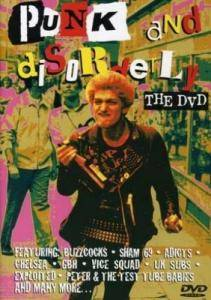 Punk And Disorderly - The DVD - Cover