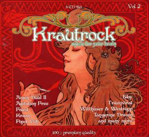 Krautrock - Music For Your Brain Vol. 2 - Cover