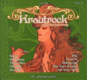 Krautrock - Music For Your Brain Vol. 3 - Cover