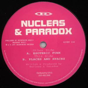 Nucleus & Paradox: Esoteric Funk - Cover
