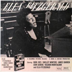 Ella Fitzgerald: Let No Man Write My Epitaph - Cover