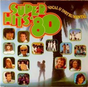 Super Hits '80 - Cover