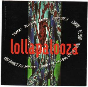 Lollapalooza '93 - Cover