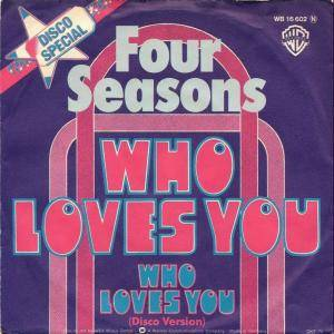 The Four Seasons: Who Loves You - Cover