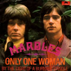 Cover - Marbles, The: Only One Woman