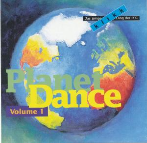 Planet Dance Volume 1 - Cover
