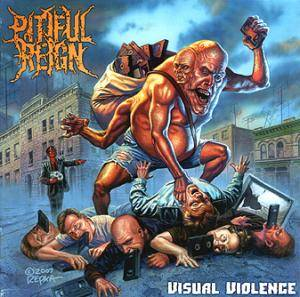 Pitiful Reign: Visual Violence - Cover