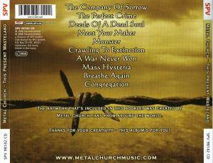 Metal Church: This Present Wasteland (CD) - Bild 2