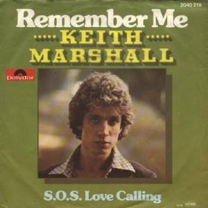 Cover - Keith Marshall: Remember Me