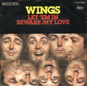 Wings: Let 'em In - Cover