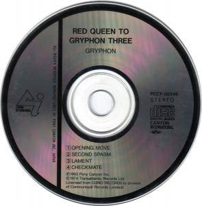 Gryphon: Red Queen To Gryphon Three (CD) - Bild 2
