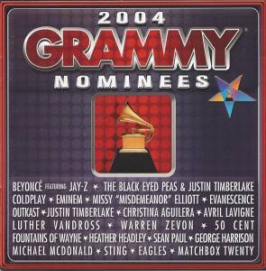 Cover - Coldplay: 2004 Grammy Nominees