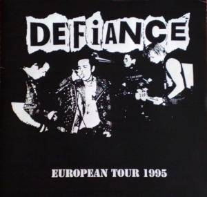 Defiance: European Tour 1995 - Cover