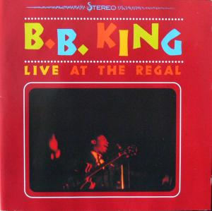 B.B. King: Live At The Regal - Cover