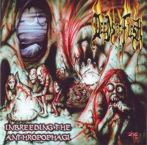 Deeds Of Flesh: Inbreeding The Anthropophagi - Cover