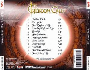 Freedom Call: The Circle Of Life (CD) - Bild 2