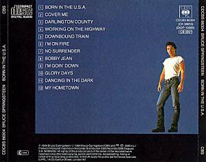Bruce Springsteen: Born In The U.S.A. (CD) - Bild 2
