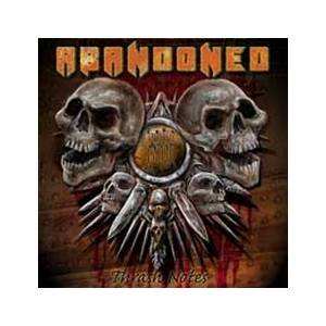 Cover - Abandoned: Thrash Notes