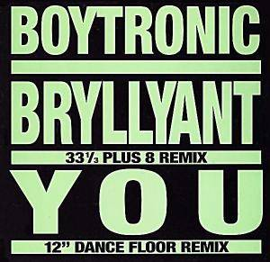 Boytronic: Bryllyant / You - Cover