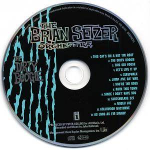 The Brian Setzer Orchestra: The Dirty Boogie (CD) - Bild 3